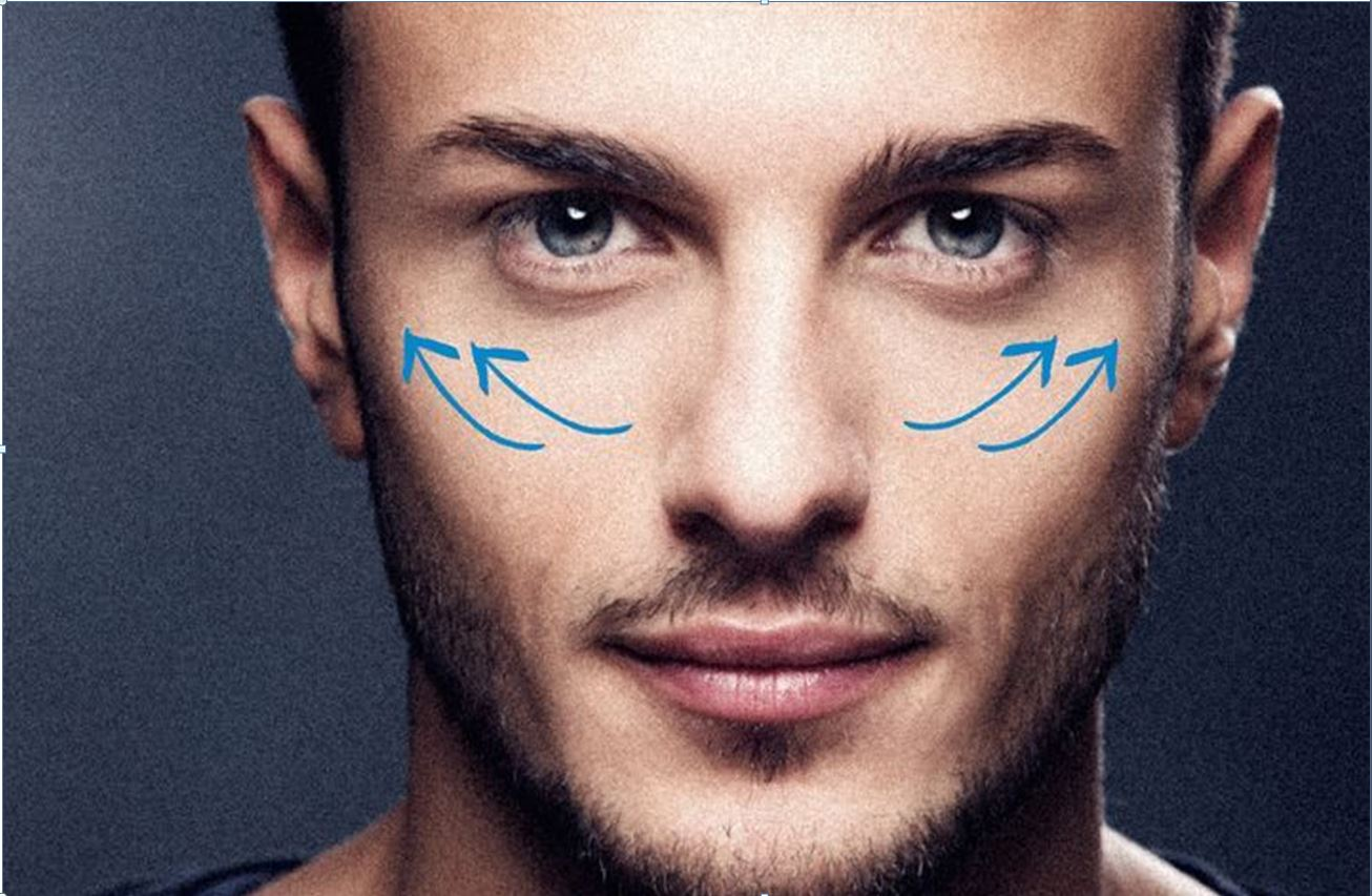 Men and facial procedures