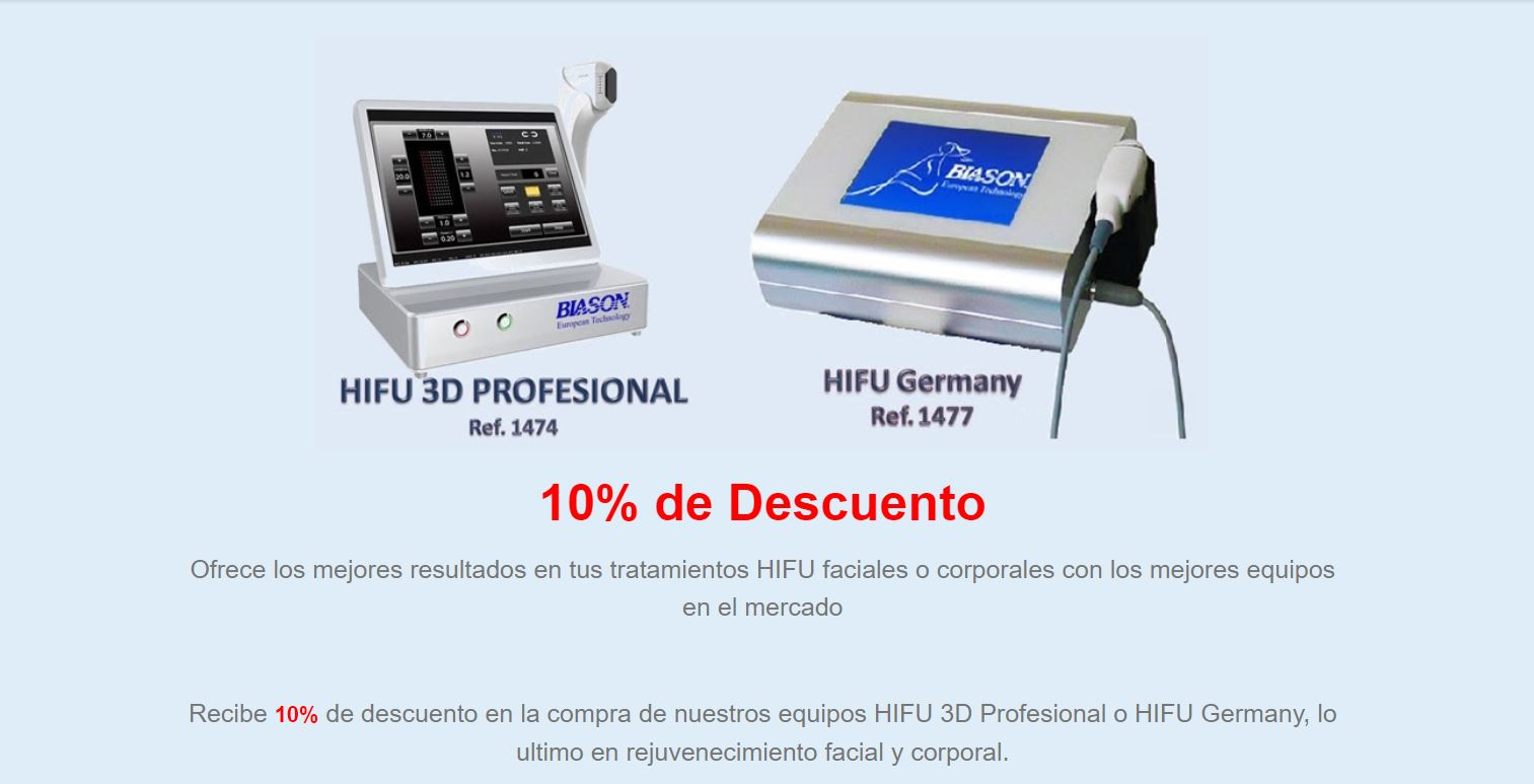 Hifu High Intensity Focused Ultrasound Offer